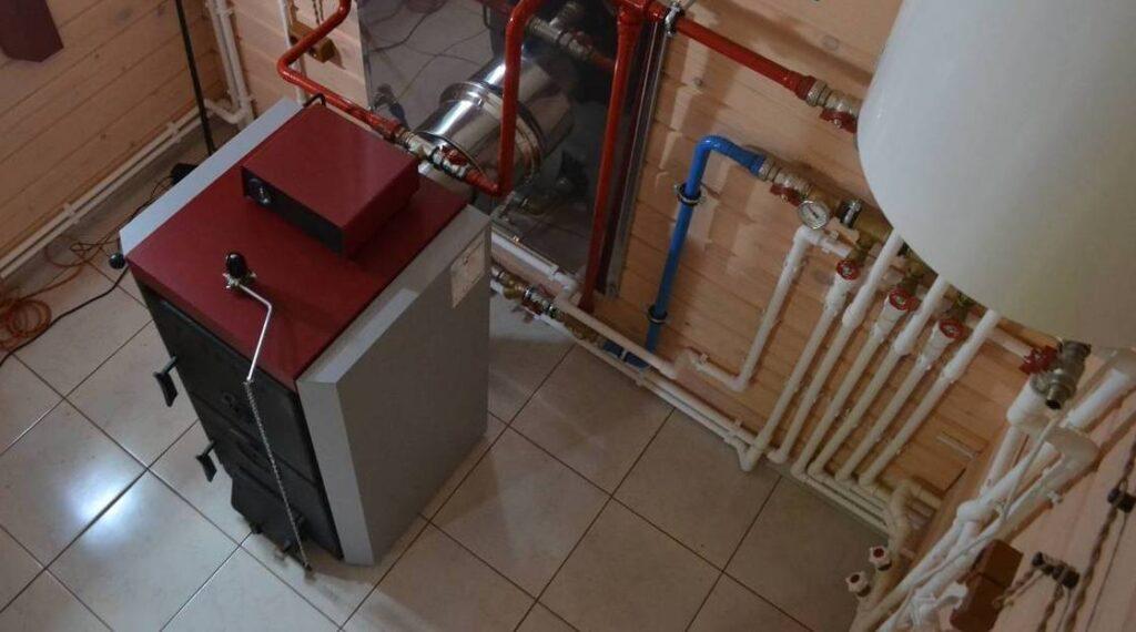 твердотопливное отопление под ключ