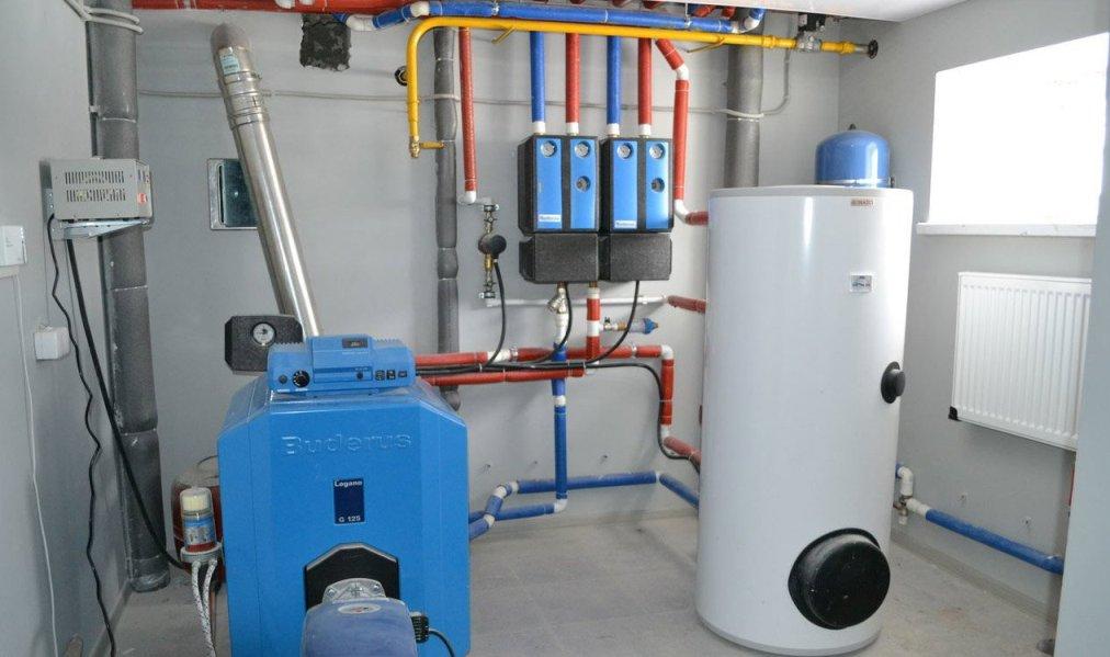 дизельное отопление под ключ