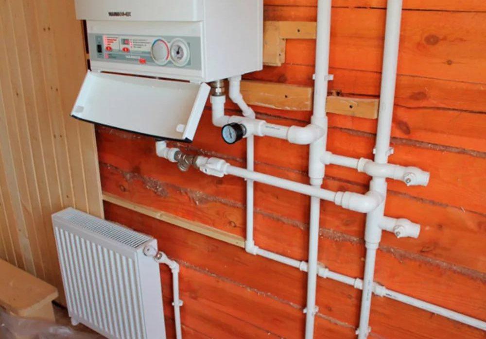 провести отопление на даче под ключ цена
