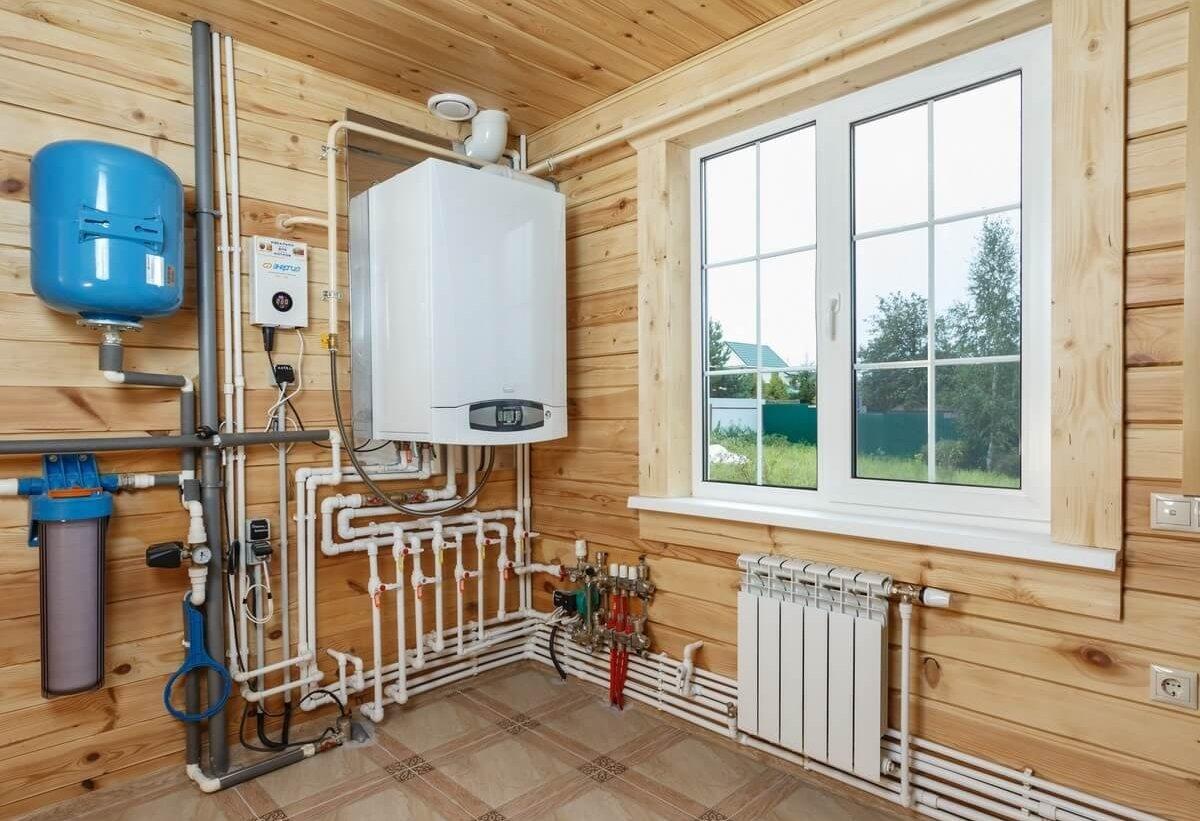 отопление для деревянного дома